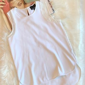 Cynthia Rocket White Tank Top S